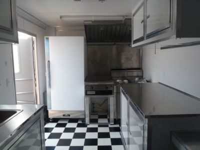 2012 8.5 x 16ft Length Enclosed Concession Trailer
