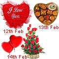 Valentine's Day Flowers and Gifts delivery to all over Hyderabad