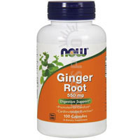 Now Foods Ginger Root 550 mg 100 Caps