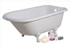 Brush Roll On Bathtub Paint Kit With Pro Bond
