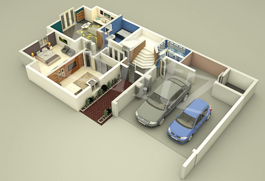 Get 3D Home Floor Plan Architect Design Services at Low Costs