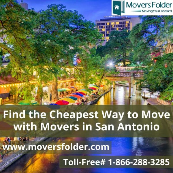Find the Cheapest Way to Move with Movers in San Antonio