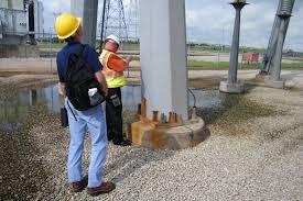 High Mast Light Pole Inspection