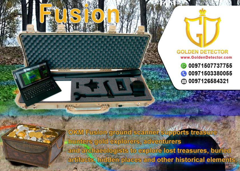 Fusion Professional Plus 3D imaging system for detecting gold