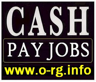 Part Time Employment Available (Cash In Hand)