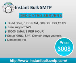 Dedicated Servers - Bulk SMTP | Dedicated Mail Server