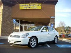 2003 Infiniti G35CAR FOR SALE