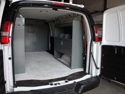 Full Size Cargo Van Shelving Storage. New
