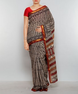 Online shopping for maheshwari summer cotton saris by unnatisilks