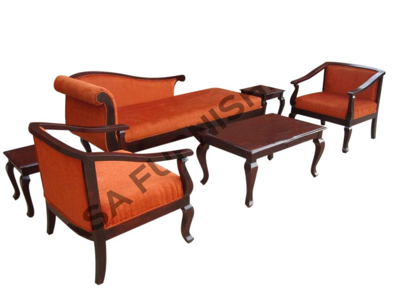 Designer Wooden Sofa with Center Table | Sheesham | Casa furnishing