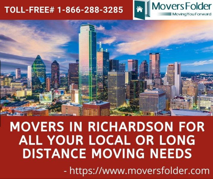 Movers in Richardson for your Local or Long Distance Moving