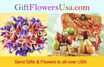 Send Flowers and Gifts to all over USA