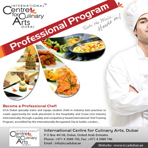 Become a Professional Chef! Culinary Training Institute Dubai