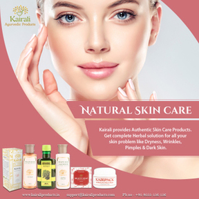 Enrich your Skin with Kairali's Skin Care Products