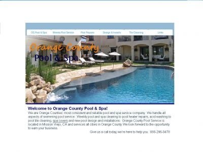 Orange County Pool and Spa Service and Repair Co.