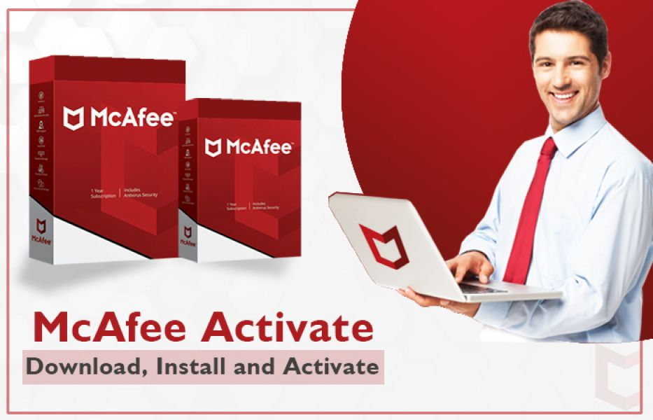 McAfee.com/Activate - Enter your product key - Install McAfee Product
