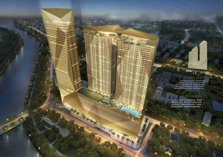 The Peak @ Cambodia New Commercial and Residential