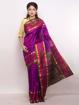 Online shopping for celebrity bangalore silk saris by unnatisilks