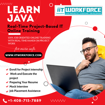 Groom your career opportunities by learning Java in IIT Workforce!