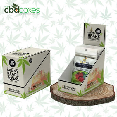 Get Custom CBD Gummies Packaging Boxes at Wholesale rates