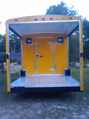 Beautiful 2011 8.5X28 Concession Trailer