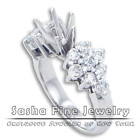 Semi Mount Engagement Rings at Lowest Price