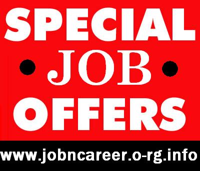 Special Cash JOB Offers, Immediate Start.