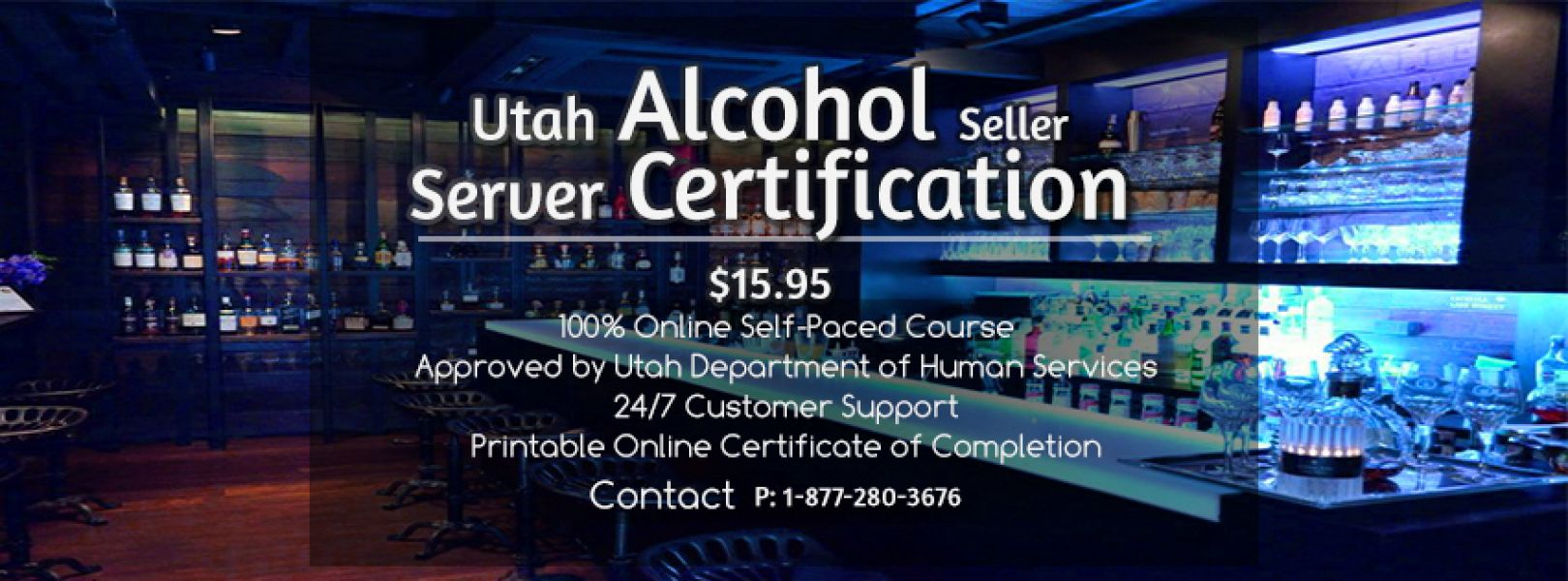 Online Alcohol Seller Server Training and courses available with 10% discount