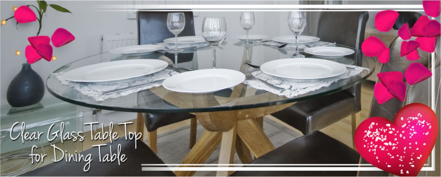 Buy Glass table tops by Fab glass and mirror with free delivery nationwide