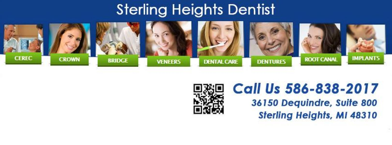 Teeth Crowns Near Sterling Heights MI