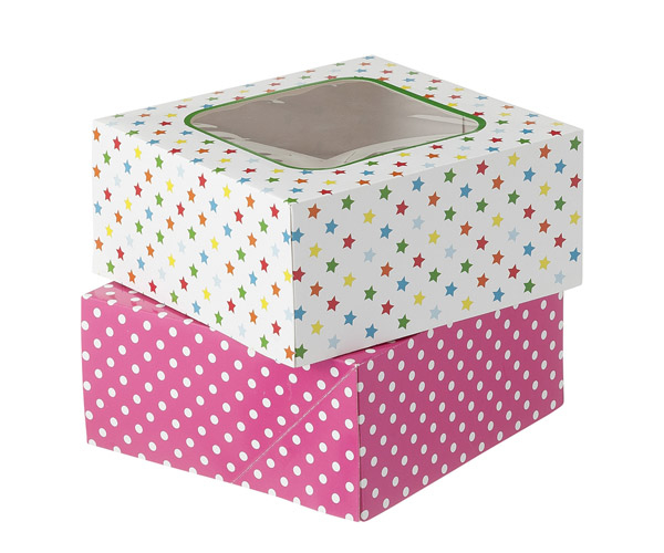 Custom Cake Packaging Boxes Wholesale
