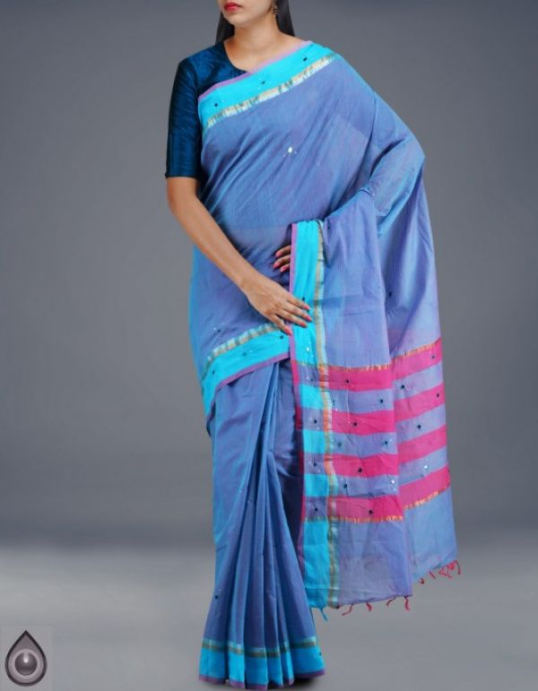 Online shop for pure mangalagiri cotton sarees collection by unnatisilks
