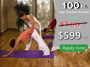 Join upcoming Yoga Teacher Training in March and April 2021