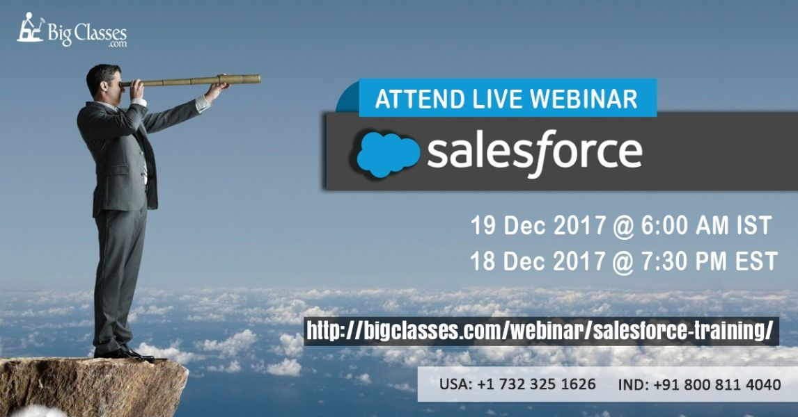 Create an Excellent Career in Salesforce Development by our Specialized Trainers of Salesforce Indu