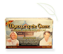 Experience the miracle done by the Mystique of the Orient Herbal Rejuvenating Soap