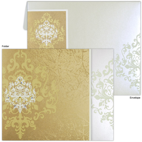 Graceful Handmade Invitations Cards for Wedding
