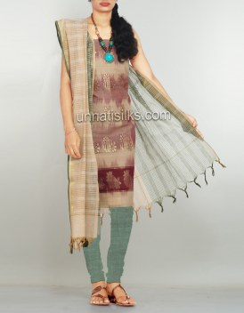 Online shopping for pure handloom kanchi cotton salwar by unnatisilks