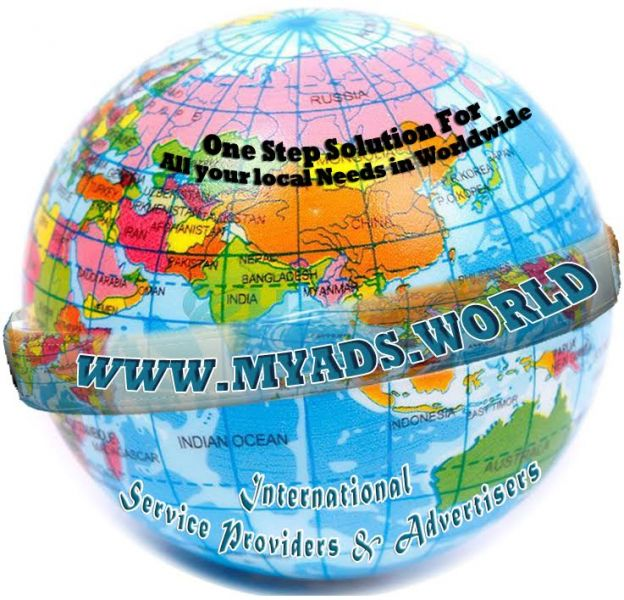 Myads.world - International Service Providers & Advertisers  And  Post Free Ad
