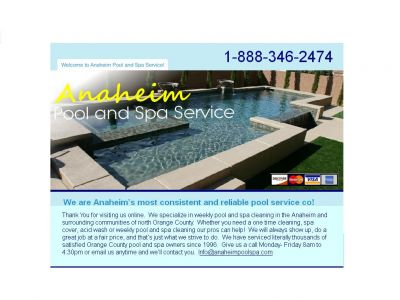 Anaheim Pool and Spa Service Co.
