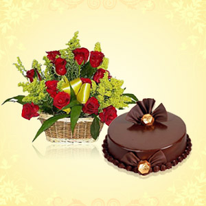 Send Cakes and Flowers To India