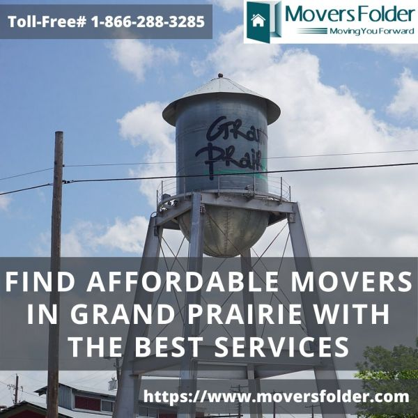 Find Affordable Movers in Grand Prairie with Best Services