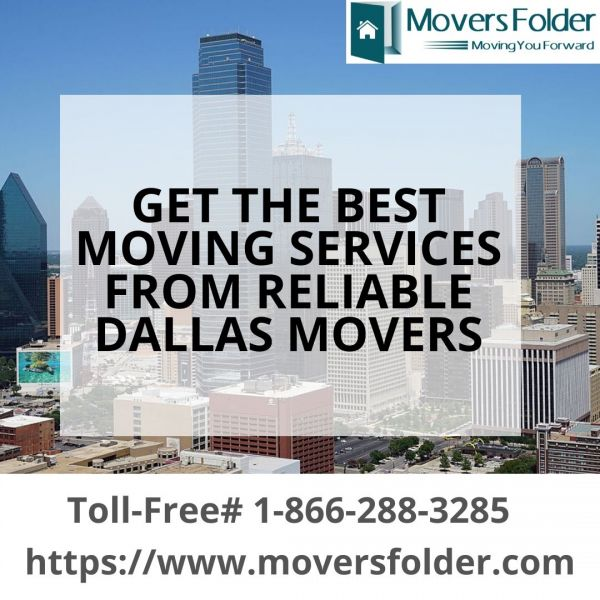 Get the Best Moving Services from Reliable Dallas Movers