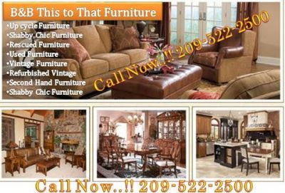 B&B This to That Used Furniture Modesto