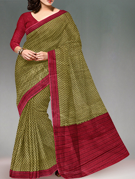 Online shopping pure crepe silk saris by unnatisilks