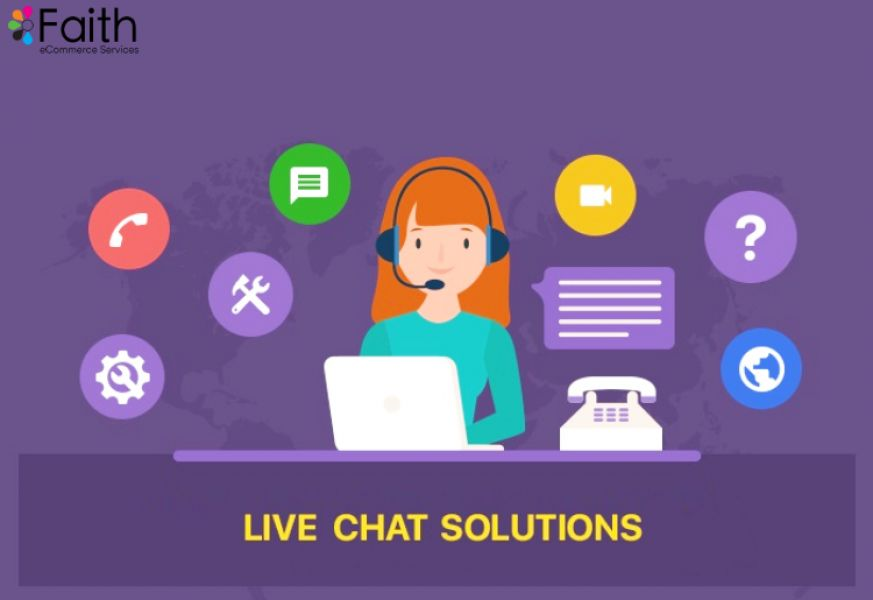 Best Live Chat Solutions Only At Faith eCommerce Services