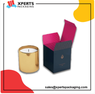 Get Custom Candle Packaging Boxes at wholesale rates