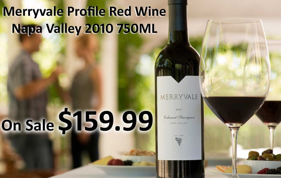 Merryvale Profile Red Wine Napa Valley 2010 750ML