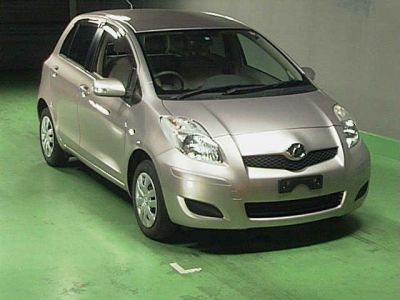 Used Toyota Vitz 2009 Models for Sale From Japan
