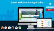 Online Travel Agency Portal  for Web and Mobile App at just $4999