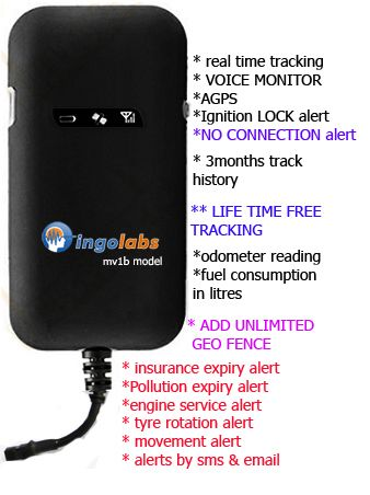 GPS Tracker Vehicles Mv1b Real Time 2yr Wrty Ignlock Voice Monitor